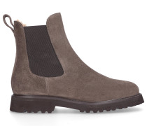 Chelsea Boots 8743 Wildleder beige