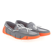 Mokassins Bootsschuhe Gummi orange