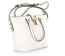 Handtasche Schultertasche Shopper Leder geprägt