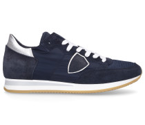 Sneaker low TROPEZ Materialmix Logo Patch -kombi
