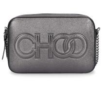Handtasche BALTI Nappaleder Logo silber