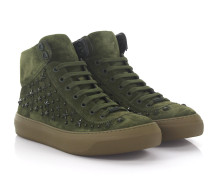Sneaker High Argyle Veloursleder Stars