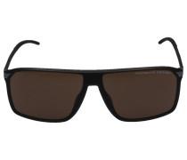 Sonnenbrille Wayfarer 8653 Acetat schwarz