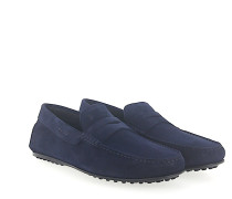 Penny Loafer Mokassins R00011 Veloursleder