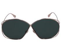 Sonnenbrille Oversize STELL2 Metall rosé
