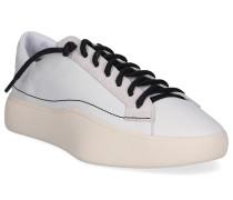 Sneaker low TANGUTSU LACE Wildleder Logo beige