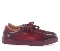Sneaker low 20374 Glattleder Finished bordeaux