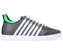 Sneaker low 251 Kalbsleder Nylon Logo