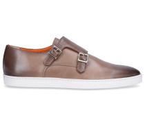 Monk Schuhe 15506 Kalbsleder beige