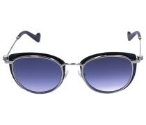 Sonnenbrille Wayfarer 0045 Metall Acetat schwarz
