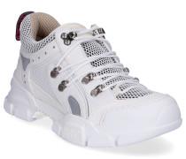 Sneaker low FLASHTREK Glattleder Textil Veloursleder