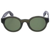 Sonnenbrille Round 40008I 57N Acetat schwarz