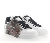 Sneaker PORTOFINO LIGHT Kalbsleder Perlen Print