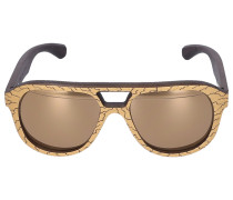 Sonnenbrille Aviator COPA SPECIAL EDITION Blattgold