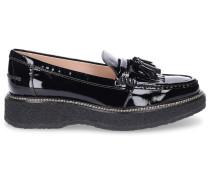 Loafer B0AK70 Lackleder Tassel