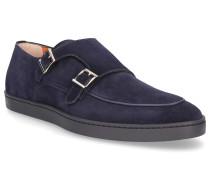 Monk Schuhe 16384 Kalbsvelours