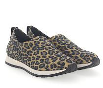 Sneaker Slip-On VICKY Nylon leo-print