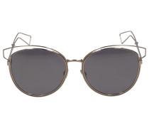 Sonnenbrille Cat Eye brille SID2 Metall gold