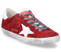 Sneaker low SUPERSTAR Veloursleder Used