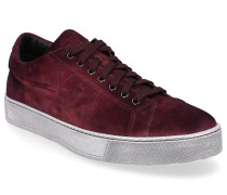 Sneaker low 20850 Veloursleder bordeaux