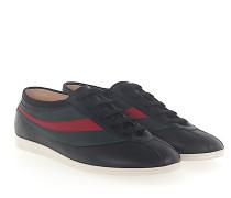 Sneaker Low Leder Stickerei-Biene Webdetail