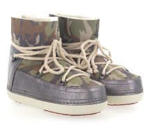 Boots CAMOUFLAGE GREEN Lammleder camouflage