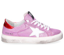 Sneaker low MAY Veloursleder Crinkled