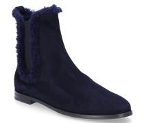 Chelsea Boots 8110 Veloursleder dunkel