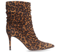 Stiefeletten CECILE Veloursleder leopard