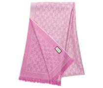 Schal 3G200 Baumwolle Logo rosa