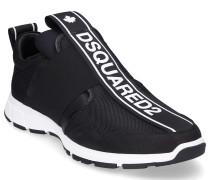 Sneaker low TAPE Hightech-Jersey Nubukleder Logo