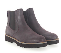 Stiefeletten Kalbsleder Finished bordeaux