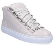Sneaker high ARENA Glattleder Crinkled Logo creme