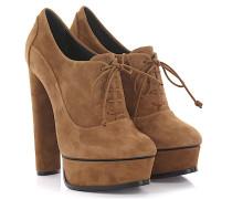 Ankle Boots 1C046E Plateau Veloursleder