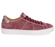 Sneaker low 60430 Veloursleder altrosa