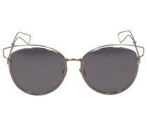 Sonnenbrille Cat-Eye SID2 Metall gold