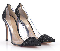Pumps Satin Strass