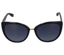 Sonnenbrille Cat Eye DANA/S Acetat schwarz