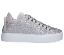 Sneaker low 551 laminiertes Glitzergewebe Glitzer