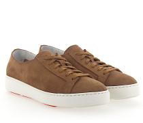 Sneaker 53853 Veloursleder hellbraun