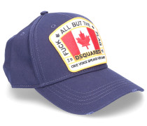 Snapback Cap ALL BUT THE FLAG Stoff Logo-Patch used