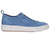 Sneaker low 60501 Veloursleder hell