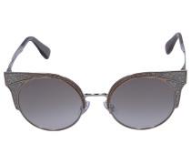 Sonnenbrille Wayfarer ORA/S Metall silber