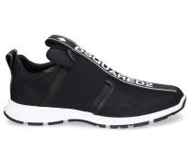 Sneaker TAPE Hightech-Jersey Nubukleder Logo Patch