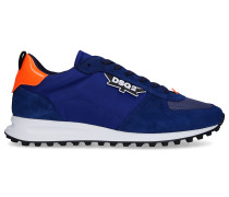 Sneaker NEW RUNNER HIKING Veloursleder Logo orange