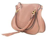 Schultertasche Handtasche MARCIE M Leder rosé