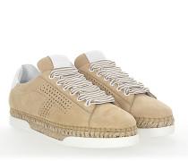 Espadrilles Sneaker A0Y550 Plateau Veloursleder