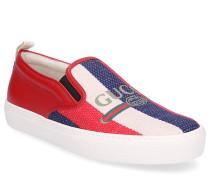 Sneaker low 9SP50 Canvas Glattleder Webdetails