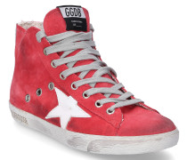 Sneaker high FRANCY Veloursleder Used