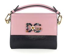 Handtasche Umhängetasche Leder rosa Leder